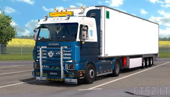 Scania 143M для Euro Truck Simulator 2
