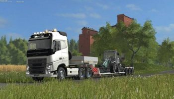 Volvo FH16 Short Wheel Base для Farming Simulator 2017