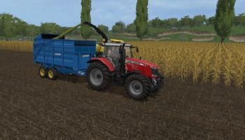West 10T Silage для Farming Simulator 2017