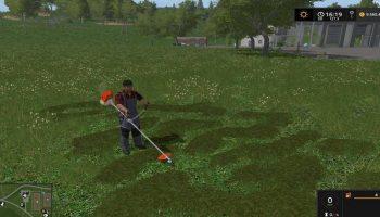 Ручная косилка для Farming Simulator 2017