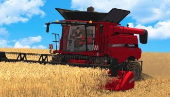 Case ih Axial Flow 7130 EU для Farming Simulator 2017
