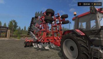 CultiPlough для Farming Simulator 2017