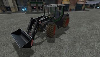 Fendt Xylon 524 V1.1 для Farming Simulator 2017