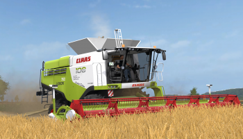 Claas Lexion 700 Stage IV MW Edition для Farming Simulator 2017