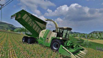 Krone Big X 650 Cargo для Farming Simulator 2017