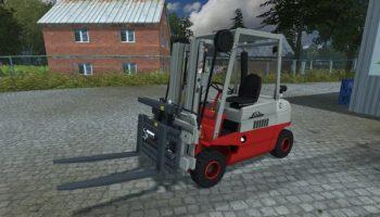 Linde Stapler H30D для Farming Simulator 2017