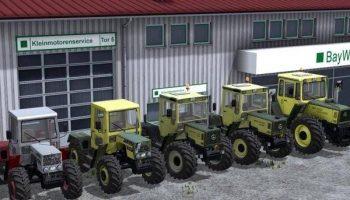 Mercedes Benz Пак для Farming Simulator 2017