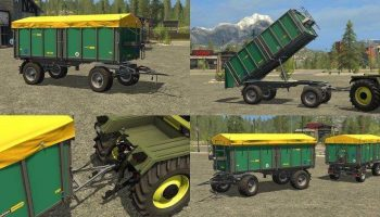 OEHLER ZDK 180P – DH v 2.0 для Farming Simulator 2017