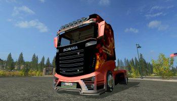 Scania R1000 FEU v1.0 для Farming Simulator 2017