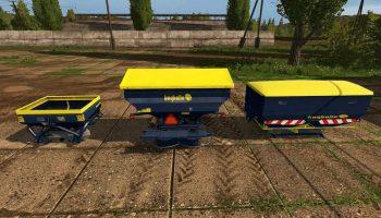 Bogballe 3-Punkt Streuer Pack для Farming Simulator 2017