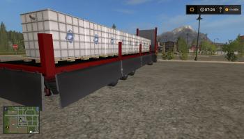 Полуприцеп kogel v2 для Farming Simulator 2017
