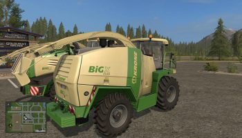 Krone Big X by Kalijostro для Farming Simulator 2017