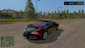 bugatti veyron v1.0.0 для Farming Simulator 2017