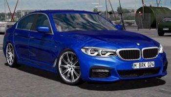 BMW 540I M G30 для Euro Truck Simulator 2