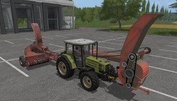Furagir FN-1.2A + Forager v1.2 для Farming Simulator 2017