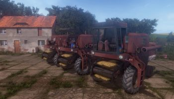 Бизон Zlomek Z056 для Farming Simulator 2017