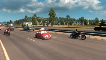 Бразильский трафик для Euro Truck Simulator 2