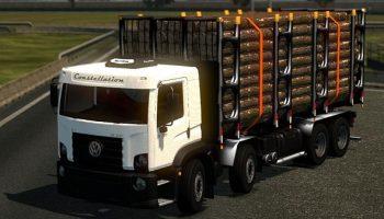 VOLKSWAGEN + ПРИЦЕП для Euro Truck Simulator 2