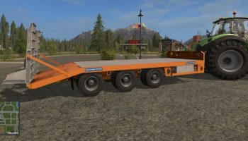 Chieftain Low Loader для Farming Simulator 2017