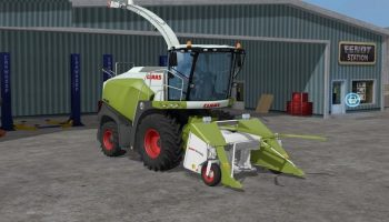 Claas Silva 200 для Farming Simulator 2017