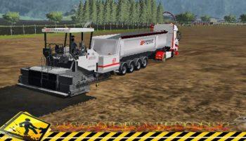 Finisher Eiffage v2 для Farming Simulator 2017