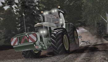 John Deere 7800/7810 для Farming Simulator 2017