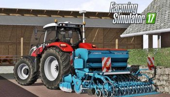 Lemken Saphir 8 для Farming Simulator 2017