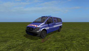 Mercedes-Benz Vito для Farming Simulator 2017