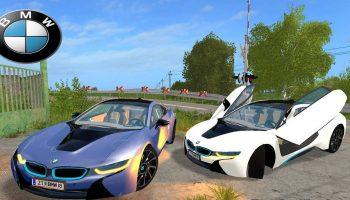 BMW i8 для Farming Simulator 2017