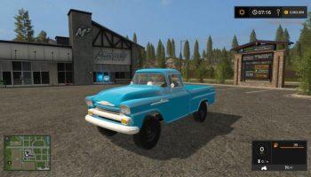 Chevrolet Apache для Farming Simulator 2017