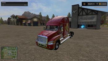 freightliner cascadia для Farming Simulator 2017