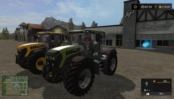 JCB Fastrac 4220 для Farming Simulator 2017