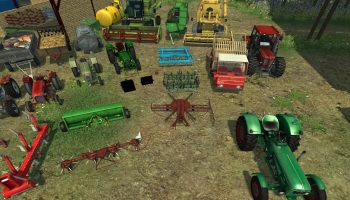 Mr Collection: motorized v1.0 для Farming Simulator 2017