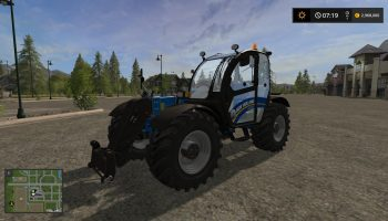 New holland lm742 для Farming Simulator 2017