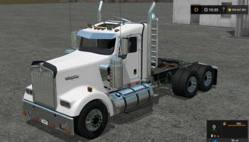 kenworth w900 для Farming Simulator 2017