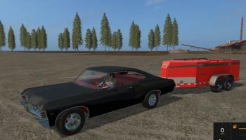Chevrolet impala для Farming Simulator 2017