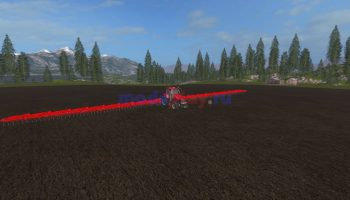 Культиватор fs17 agro 50m для Farming Simulator 2017