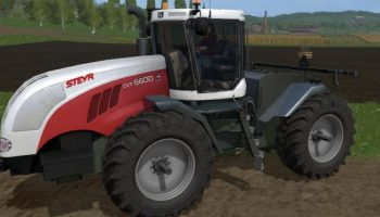 STEYR 6600 cvt для Farming Simulator 2017