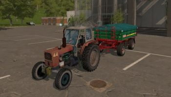 ЮМЗ 6 Л v2.0 для Farming Simulator 2017