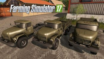 ЗИЛ-131 V1.2 для Farming Simulator 2017