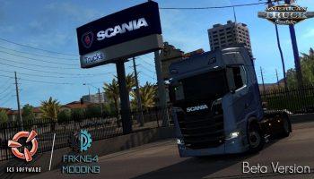 Scania Trucks For ATS v1.1 для American Truck Simulator