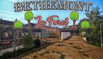 Bethemont La Foret BETA для Farming Simulator 2017