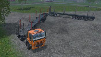Прицеп для леса Farming Simulator 2017