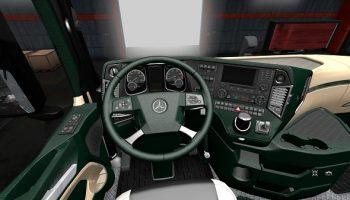 Интерьер для Mercedes Benz для Euro Truck Simulator 2