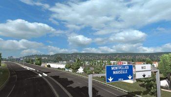 Piva Weather Mod v5.0 для Euro Truck Simulator 2