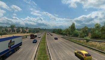 Traffic and Speedlimits 1.30 для Euro Truck Simulator 2