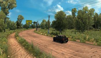 Российские просторы 5.0 для Euro Truck Simulator 2