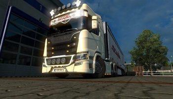 IMPROVED CABIN SCANIA S (1.30.X) для Euro Truck Simulator 2