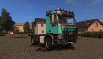 Mercedes Arocs Agrar для Farming Simulator 2017