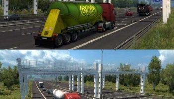 EU TURKEY MAP&VIVE LA FRANCE V1.30.X для Euro Truck Simulator 2